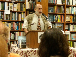 Harvey Silverglate at the Harvard Book Store. (Click on photo for a larger image.)