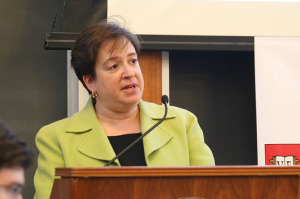Elena Kagan at Harvard Law School in 2008