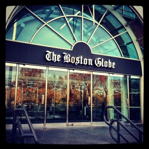 Boston Globe Instagram