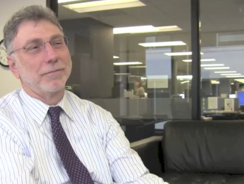 Marty Baron at The Washington Post. Click on image to watch interview.