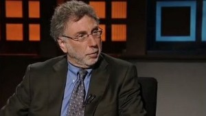 Then-Boston Globe editor on WGBH-TV (Channel 2) in 2009.