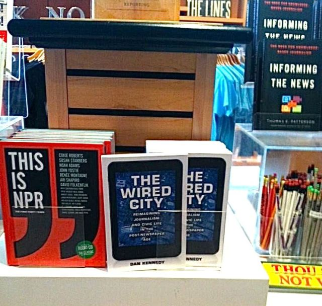 """The Wired City,"" spotted in the gift shop of the Newseum in Washington and tweeted by Kevin Koczwara (http://bit.ly/1iUAYhS)."