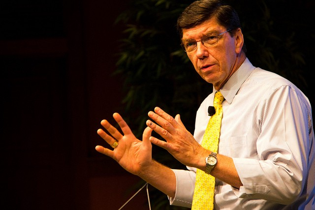 Clay Christensen in 2011. Photo (cc) by Betsy Weber. Some rights reserved.