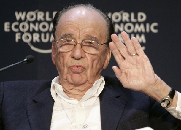 Rupert Murdoch at the 2009 World Economic Forum.