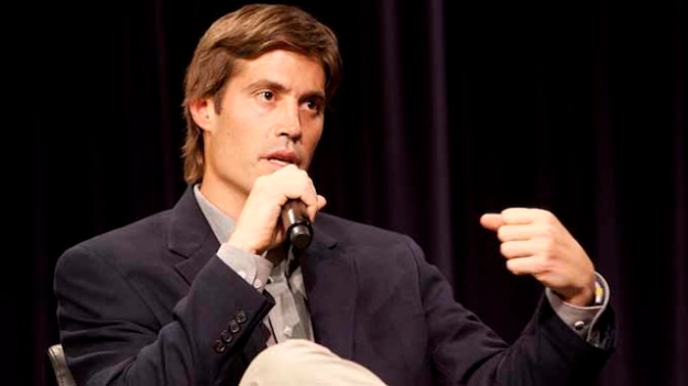 James Foley speaking at Northwestern University in 2011