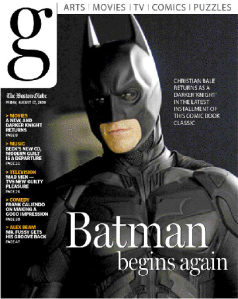 Batman was unable to save g from its ultimate demise.