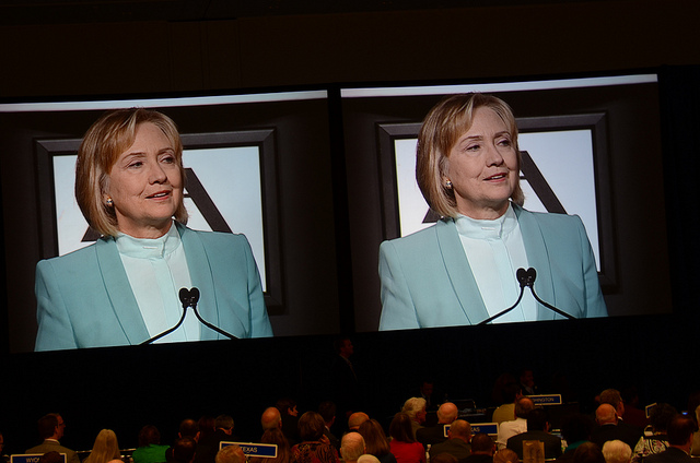 Hillary Clinton in 2013. Photo (cc) by Steve Rhodes. Some rights reserved.
