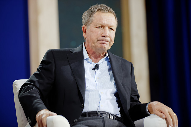 John Kasich in New Hampshire earlier this year. Photo (cc) by Michael Vadon.