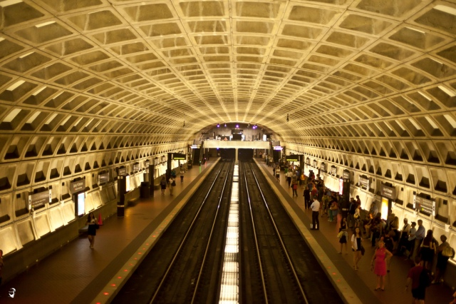 Washington's Metro: Beautiful stations, big problems. Photo (cc) by Mustafa Khayat.