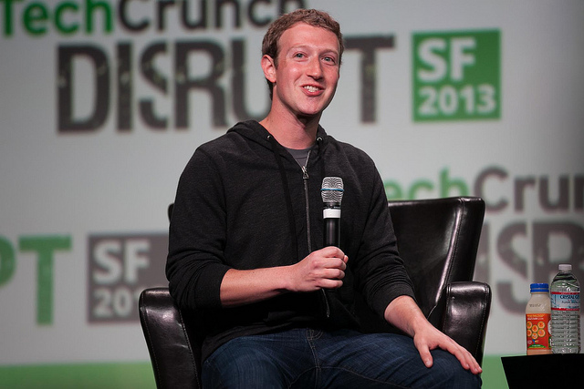 Mark Zuckerberg in 2013. Photo (cc) by JD Lasica.