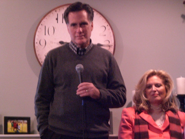It wasn't time for Romney in 2008 (or 2012). But 2016 could be a different story. Photo (cc) by Talk Radio News Service.