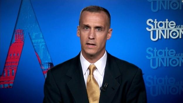 Corey Lewandowski. Photo via CNN.