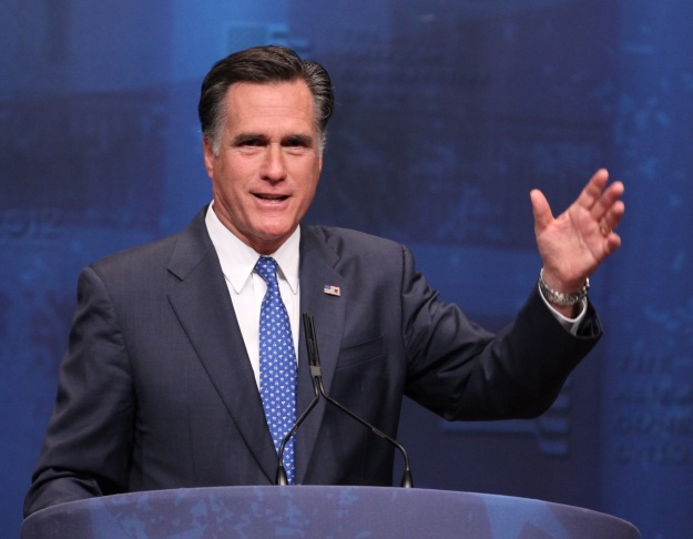 Mitt Romney in 2012. Photo (cc) by Mark Taylor.