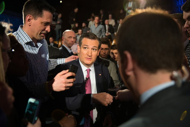 Ted Cruz earlier this year. Photo (cc) by Nathan Congleton.