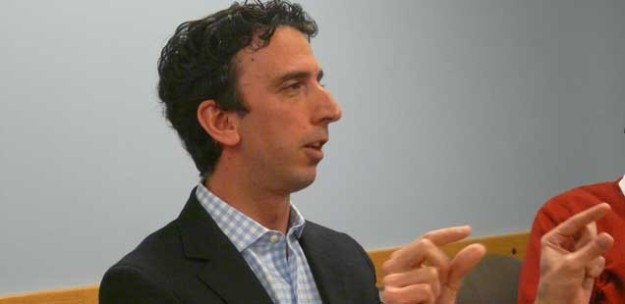 David Skok. Photo via the Shorenstein Center on Media, Politics and Public Policy.