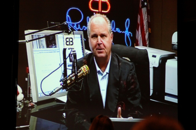 Rush Limbaugh. Photo (cc) by xxx.