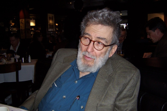 Nat Hentoff. Photo (cc) 2004 by K.G. Schneider.